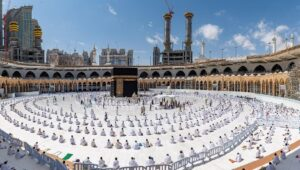 Mecca Grand Mosque Opened For Visitors, Drops Social Distancing